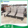 Metal Legs (FY-042X)를 가진 Steel와 Wood 직류 전기를 통한 3 Seaters 정원 Bench Seat