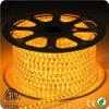 5050 60LEDs/M 230V 최고 밝은 호박색 LED 지구