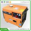 AC de Draagbare Generator In drie stadia van de Generator van de Macht van de Benzine 7kVA