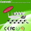 720p Hisilicon, im Freien Metallgewehrkugel Kasten 4CH WiFi NVR u. WiFi IP-Kamera-Installationssatz