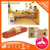 Mobilia di legno dello scaffale dell'aula dei bambini