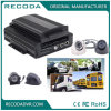 carro cheio DVR móvel das funções HDD do G-Sensor de 1080P 3G GPS WiFi com o híbrido Quatro-em-Um