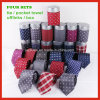 Hanky Cufflinks Silk связи таможни 100% Handmade сплетенный с комплектом коробки