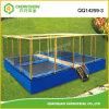 Base di salto personalizzata del trampolino della sosta della strumentazione esterna del campo da giuoco per i capretti