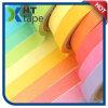 Cinta adhesiva del color del arco iris