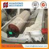 El transportador de correa toma la polea con el revestimiento de goma de Huadong