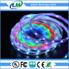 IP65 lumière de bande rêveuse de la couleur SMD5050 DEL avec le tube de sillicon
