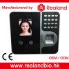 Sistema biométrico do registrador de comparecimento do tempo do reconhecimento de face de Realand F491