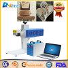 Precio de madera de la etiqueta de plástico del CNC de la máquina de la marca del laser del CO2 de Jinan China