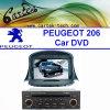Peugeot 206 (CT2D-SP1)를 위한 특별한 차 DVD