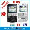 쿼드 악대 3 SIM 3 대기 텔레비젼 전화 (F5)