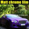 Quality Premium Matte Chrome Purple Car Wrap Vinyl Film 1.52*20m