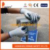 13G白いナイロン灰色のニトリルによって塗られる作業手袋Dnn338