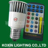 5W Scheinwerfer der Leistungs-LED mit Fernsteuerpult