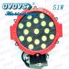 Lumière tous terrains de LED, lumière fonctionnante de 51W LED, ampoule de la voiture LED (OL-1251R)