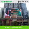 Alta definición P16 LED de Chipshow que hace publicidad de la exhibición