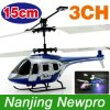 hélicoptère de 15cm 3-Channels RC avec les lumières de Lightweight+Miniature Size+Colored (NP0433)