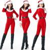 Vêtements bon marché de Noël de Santa de cadeau de Noël