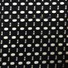 Fabbricato di nylon geometrico nero del merletto dello Spandex