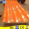 Orangefarbene vorgestrichene überzogene Dach-Fliesen
