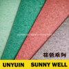 Azulejo profesional inferior del vinilo del precio de fábrica de la espuma para el suelo