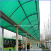 SGS ISO Approve Ten Years Guarantee Transparent Polycarbonate Hollow Sheet