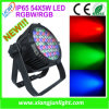 ディスコLight 54X5w LED PAR LightかPAR Cans Stage Lighting