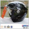 Koel glans de Zwarte Helm van de Autoped van de Motorfiets (OP203)