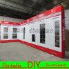 Алюминиевая материальная специальная портативная модульная стойка индикации торговой ярмарки будочки выставки DIY с панелями MDF