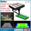 LED 200W ligero para el campo de tenis de la paleta 5 años de la garantía 400W 300W 150W LED del campo de tenis de iluminación de inundación
