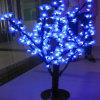 Il fiore dell'indicatore luminoso dell'albero del fiore di natale LED illumina l'albero esterno di simulazione