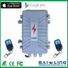 G-/Mdrahtloses intelligentes elektrisches Zaun-Alarmanlage-System mit Aluminiumfall-im FreienWarnungssystem
