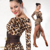 Eopard Sexy Latin Dance Performance Clothing, vêtements d'exercice