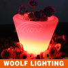 Sale Modern LED Lighting Flower PotのためのLED Plastic Pot