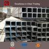 Tubo de acero/tubo cuadrados galvanizados sumergidos calientes para el material de construcción de la estructura