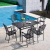ホーム庭のための椅子を食事する安い屋外のテラスの家具の鋳造アルミ