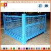 Lager-Speicher-Rahmen-Maschendraht-Rollenlaufkatze-Behälter (ZHra71)
