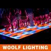 자동 색깔 LED 댄스 플로워 점화를 조정하십시오