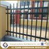 Frontière de sécurité de piquet en acier d'arrière-cour enduite de garantie de poudre noire