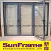 Алюминиевая классицистическая Bi-Складывая дверь в австралийском рынке