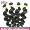 Человеческие волосы камбоджийца ранга оптовой продажи 8A фабрики волос девственницы