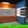 Подгонянная стойка выставки DIY многоразовая портативная для торговой выставки