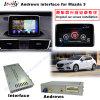 Cadre androïde automatique de surface adjacente de navigation des multimédia GPS de la mise à niveau HD pour (14-16) Mazda3