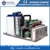 máquina de fatura de gelo do floco do controlador do PLC 10ton/Day
