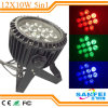 Waterdichte 12X10W Stage PAR Can Light LED PAR