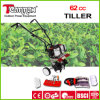 62cc Good Rating Handheld Rotary Tiller Cultivator
