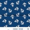 アンカー水着のための男の子によって編まれる印刷ファブリック80%Nylon 20%Spandexファブリック