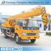 Maquinaria móvel dos guindastes dos caminhões guindaste do caminhão de 8 toneladas para a venda