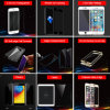 3D fill Cover Electroplating anti Peep Privacy Armoured Glass membrane for iPhone 6/6 plus