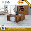 ベニヤのオフィス用家具のL形の執行部表(HX-DS225)